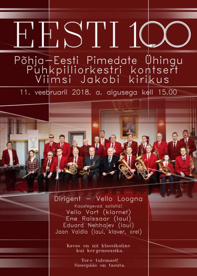 kontsert Eesti 100